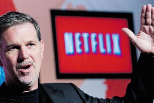 CEO of Netflix : Reed Hastings