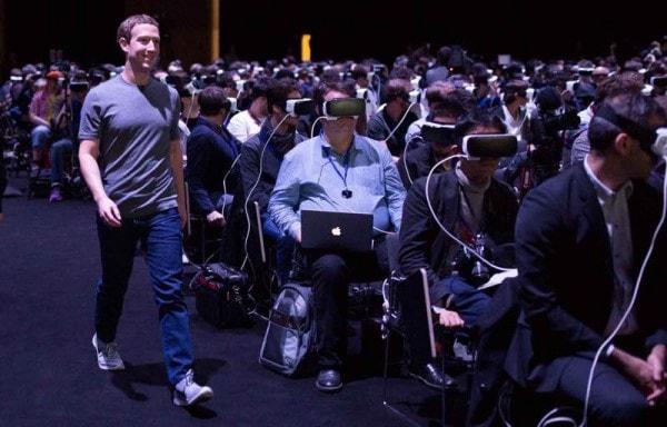 Mark zuckerberg à Barcelone